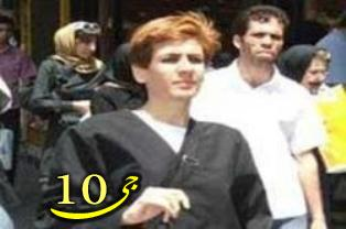 کشف حجاب هدف دار یک زن در تهران  تصویر