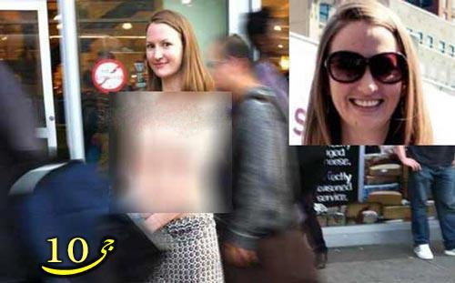 بازتاب جهانی تصاویر لخت گشتن این زن در خیابان به نشانه اعتراض عکس