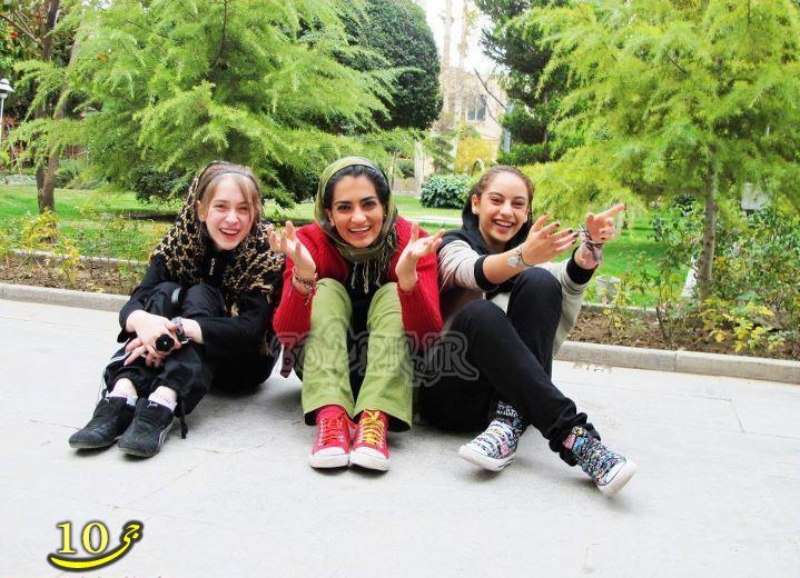 عکس های لو رفته دختر شیرازی
