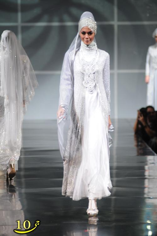 مدلهای جدید لباس عروسی و نامزدی با حجاب
