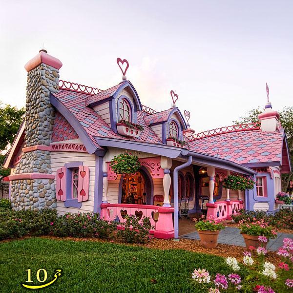 خانه هایی که با الهام از کتاب های داستان ساخته شده اند