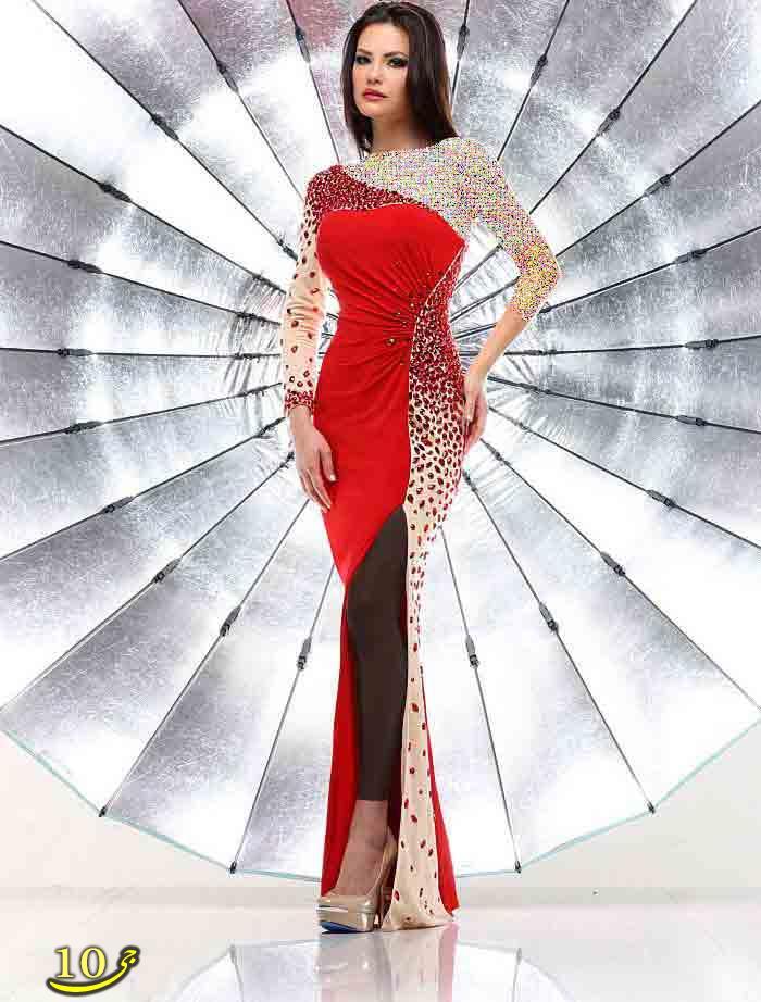 مدل های شیک و جدید لباس مجلسی  (عکس)