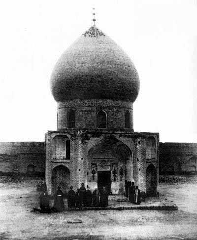 قدیمی ترین عکس از حرم امام حسین (ع)