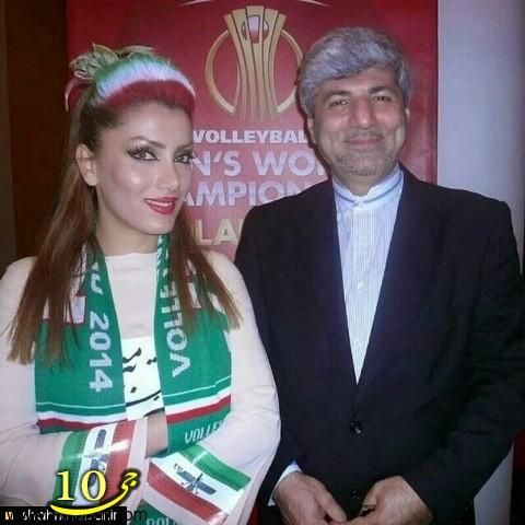 عکس جنجالی سفیر ایران در لهستان / عکس