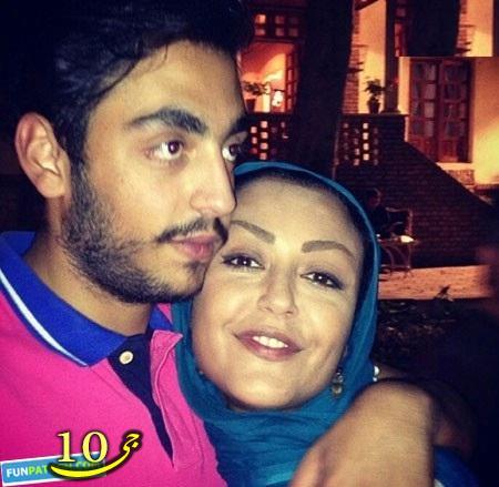 شقایق فراهانی در آغوش پسرش+عکس