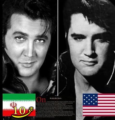 عکس بسیار جالب مجله آمریکایی از بازیگر ایرانی بخاطر چهره اش