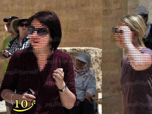 بی حجابی گردشگران ایرانی در مصر+تصاویر