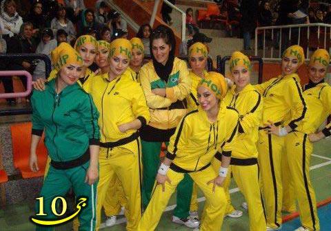مسابقه رقص با حضور دختران تهرانی! + تصویر