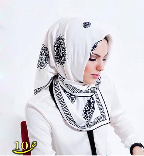 مدل شال و روسری مدل ترکی