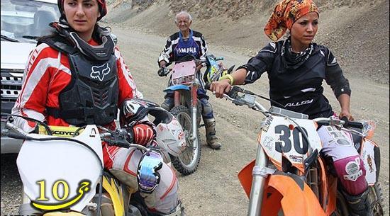 عکس دختران ایرانی موتور سوار (سری جدید)