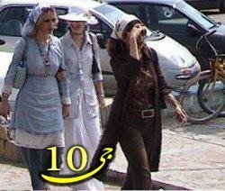 مانور دختران جلوه فروش در خیابان های تهران+عکس