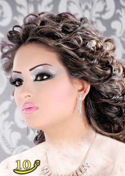 بهترین مدل های جدید آرایش صورت عروس سال