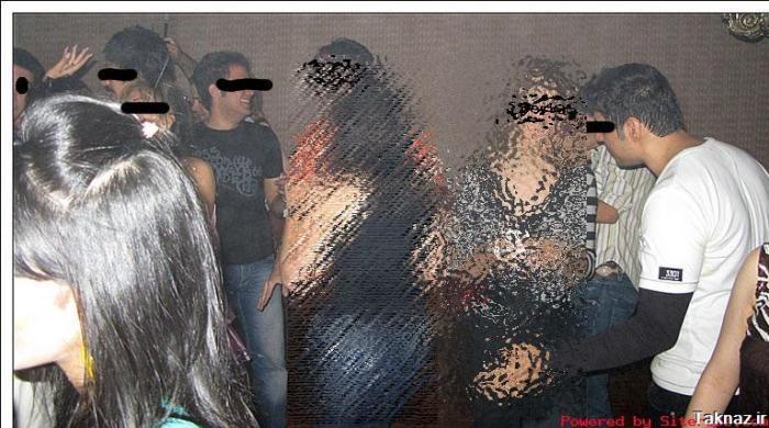 دستگیری 30 دختر و پسر مست در یک پارتی