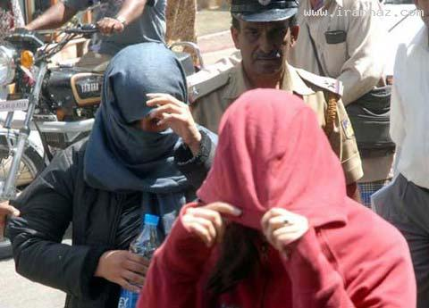 جنجال دختر دانشجوی ایرانی مست در هند (+عکس)