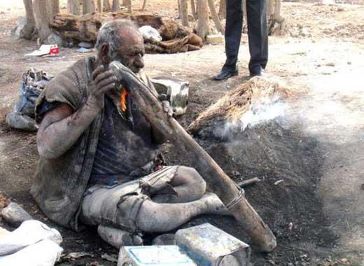کثیف ترین مرد ایرانی/ عکس