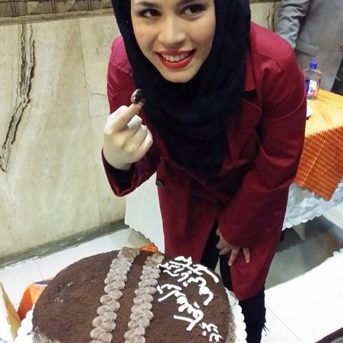 جشن تولد ملیکا شریفی نیا در رستوران ایتالیایی/ تصاویر