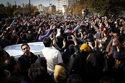 دستگیری چند نفر در تجمع هواداران مرتضی پاشایی