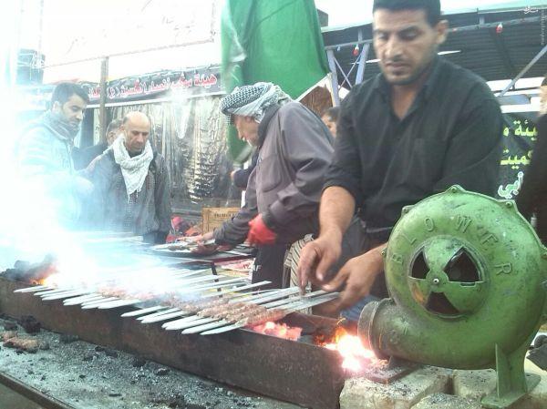 پذیرایی کم نظیر عراقی ها (عکس)