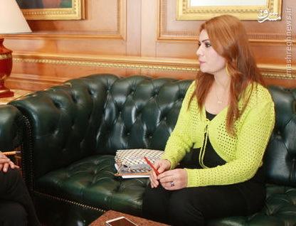زن جوان ایزدی و داعش (عکس)