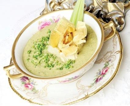 نحوه پخت سوپ آرتیشو ، پیش غذای استثنایی