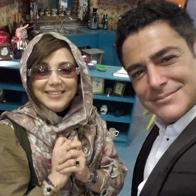 عکس/ سلفی بهنوش بختیاری و گلزار