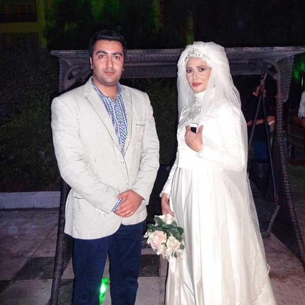 عکس جذاب از مراسم عروسی پریناز ایزدیار
