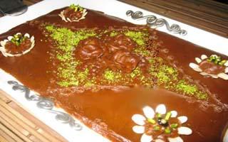 طرز تهیه حلوای عربی با طعمی بسیار لذیذ