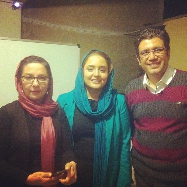 رضا رشیدپور، نرگس محمدی و لاله صبوری در یک قاب +عکس