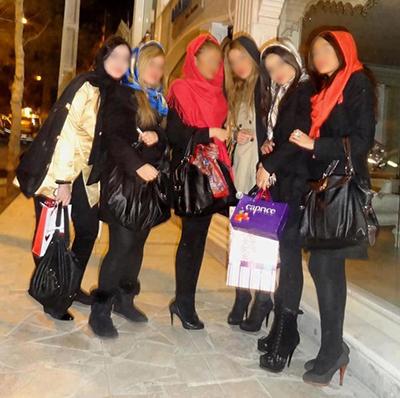 ساپورت پوشان ایرانی، سوژه «فرانس ۲۴» / عکس