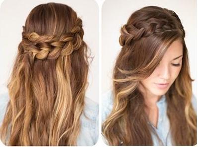 آموزش تصویری بافتی زیبا برای مو