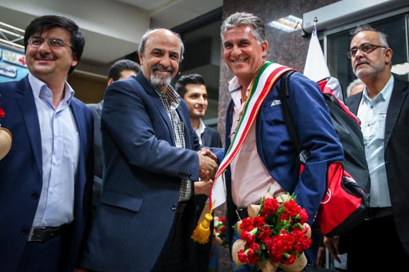 کیروش: فوتبال دادگاه خوبی دارد به اسم نتیجه/ رنگهای پرچم ایران رنگهای شانس من هستند