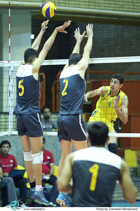 رسول آقچه لی ارزشمندترین بازیکن مسابقات والیبال نوجوانان آسیا شد