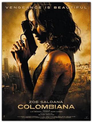 Colombiana 2011 Poster دانلود فیلم Colombiana 2011
