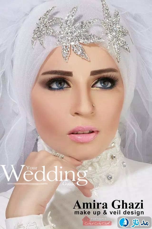 عکس لباس عروس محجبه