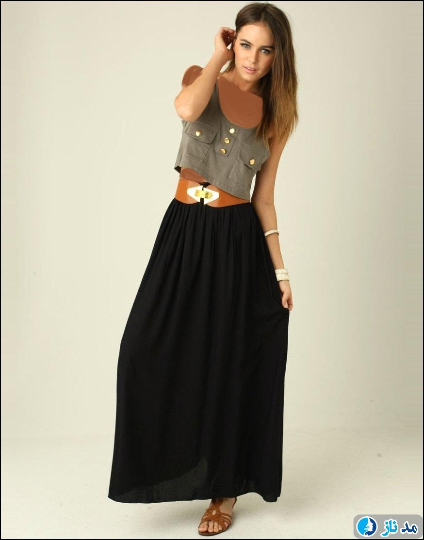 لباس شب زنانه جدید با طرح های کمتر دیده شده و زیبا مدل
