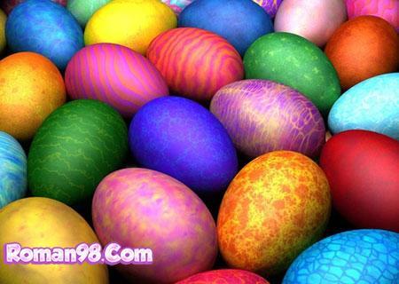 مدل های تزیین تخم مرغ هفت سین 94
