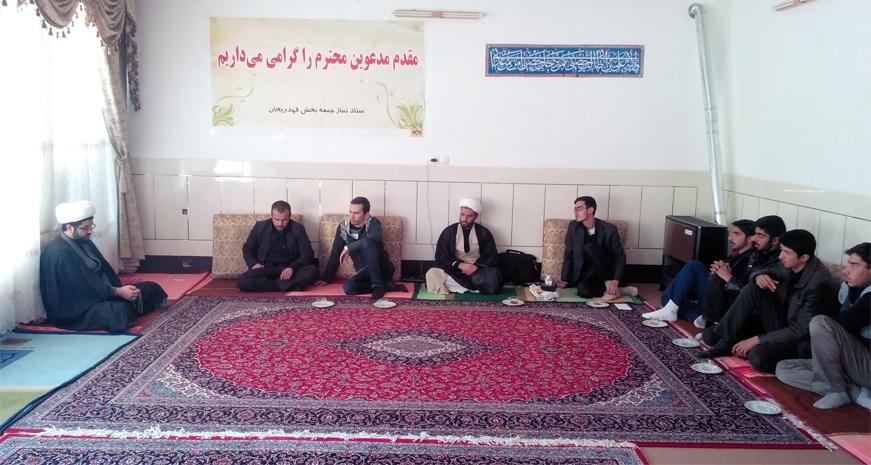 جلسه با فعالان جوان فرهنگی