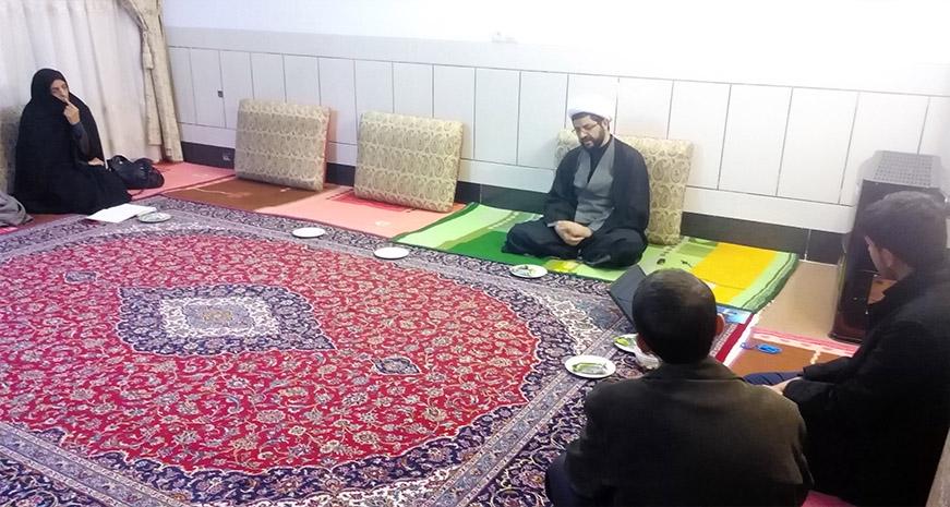 جلسه ی کاربران سایت با امام جمعه