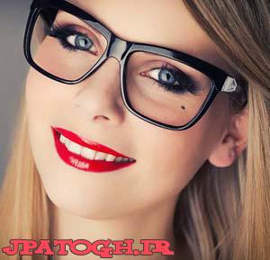 توصیه مهم آرایشی به خانم های عینکی
