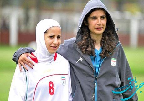 یک زن سرمربی تیم فوتبال مردان شد +تصاویر