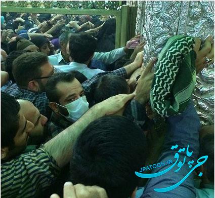 امیر تتلو در حرم امام رضا +عکس