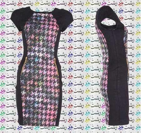 مدل جدید لباس مجلسی برای خانوم های لاغر تپل شکم دار
