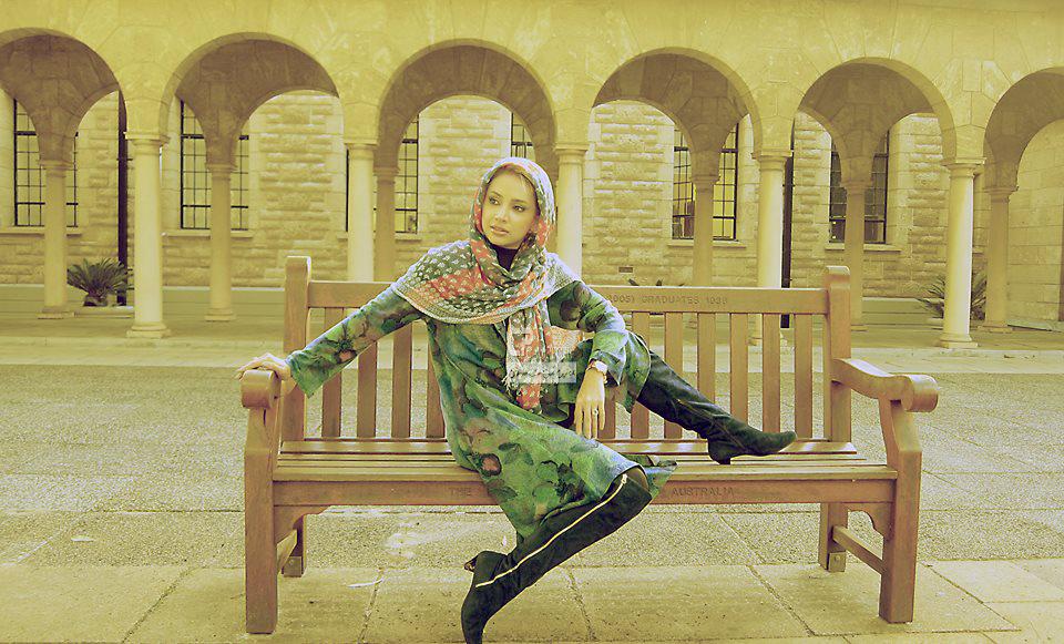 تیپ شبنم قلی خانی در استرالیا /تصاویر