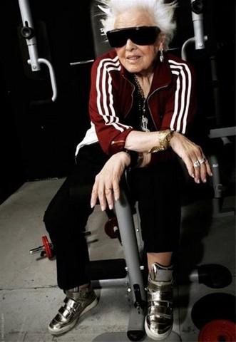 پیرترین زن دیجی جهان / عکس