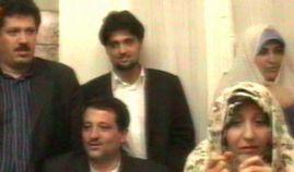 عروسی پسر محسن هاشمی با دختر نفیسه اشراقی / عکس
