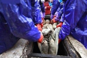 کشف جسد سالم زن 700 ساله!!/ عکس