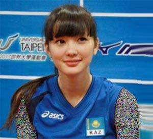 رونمایی جذاب ترین زن والیبالیست آسیا / عکس
