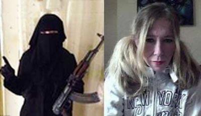 خواننده زن انگلیسی داعشی شد! / عکس