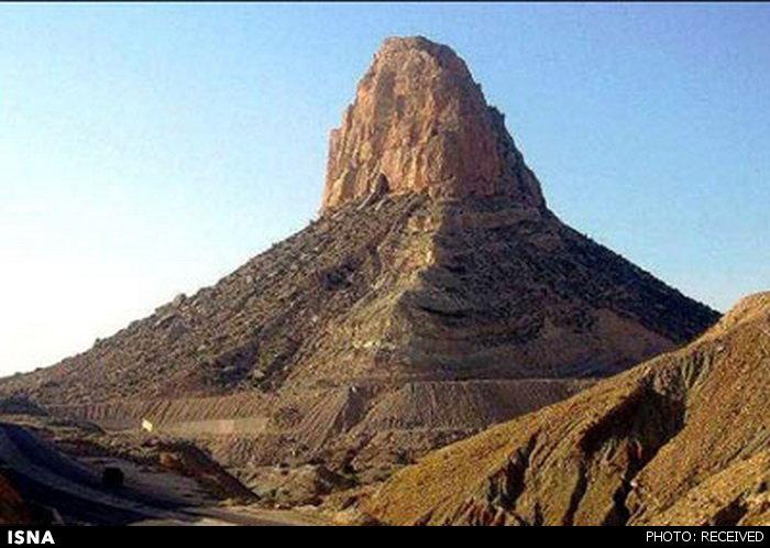 عجیب ترین کوه جهان در ایران!