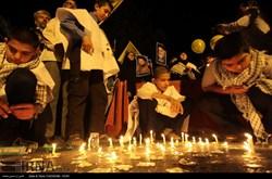 شام غریبان کودکان غزه در مشهد / گزارش تصویری
